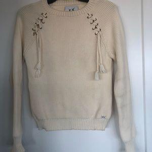 Banjo & Matilda Ivory Cotton Sweater